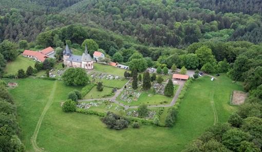 Luftbild vom Christenberg