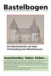 Bastelbogen Martinskirche