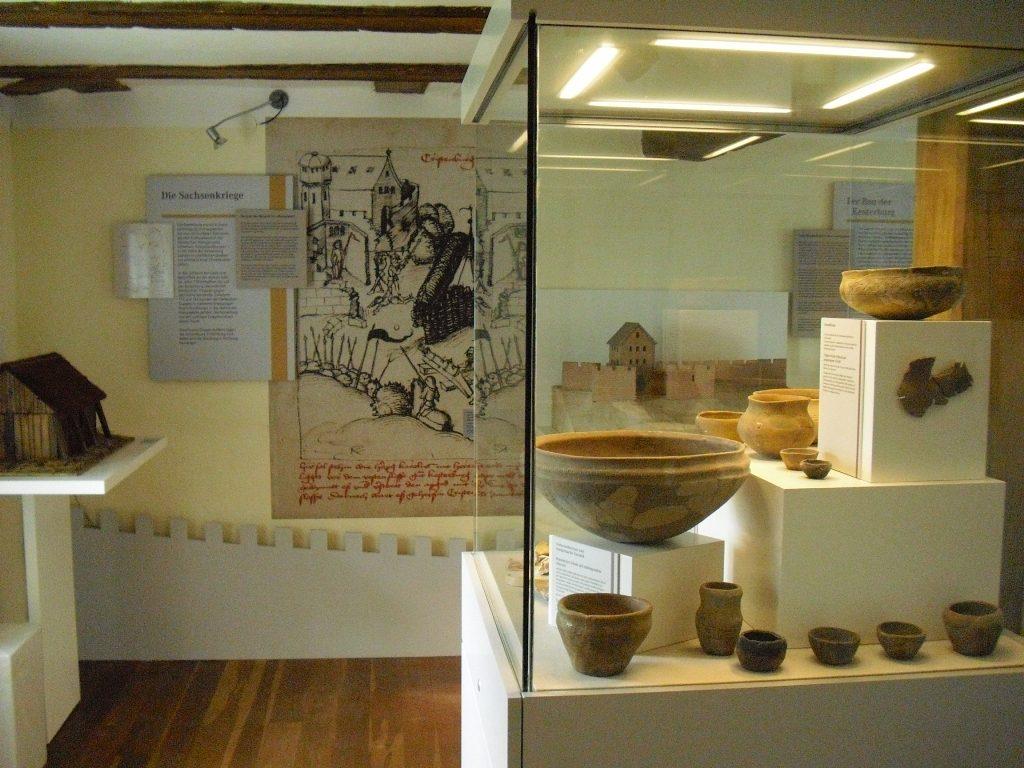 Christenberg Dauerausstellung Kelten und Franken