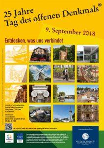 Plakat zum Tag des offenen Denkmals 2018