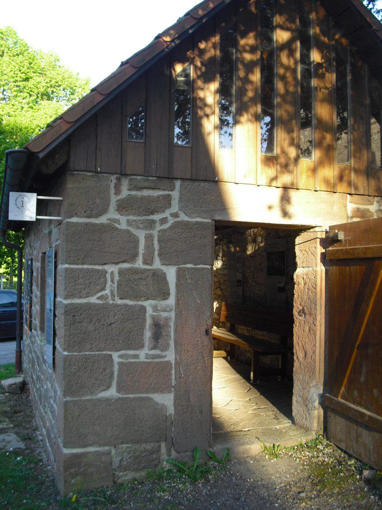 Backhaus auf dem Christenberg