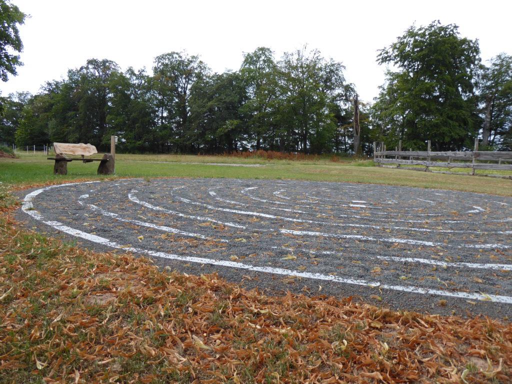 Labyrinth auf dem Christenberg